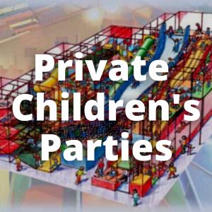 Children's Private Parties – Playzone Swansea